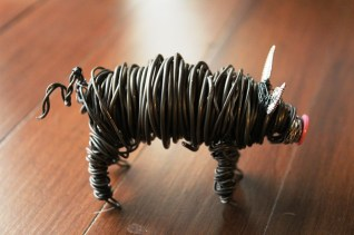 Commission Pig Sculpture (2 pig sculpts.) 020 - Copy