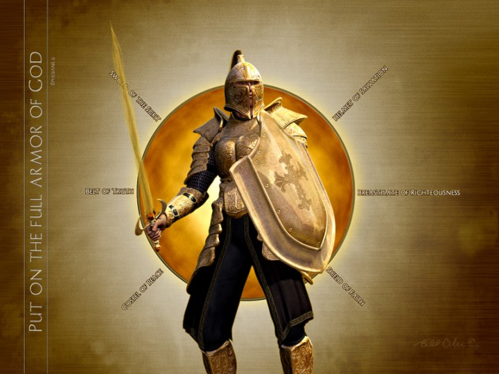 Image result for whole armor of god kjv