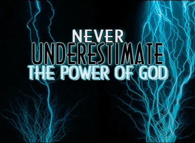 Image result for power of god