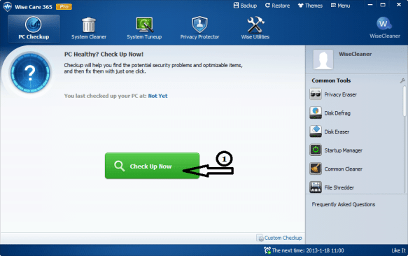 Wise Care 365 Pro 5.4.2 Crack With License Key 2019 Download