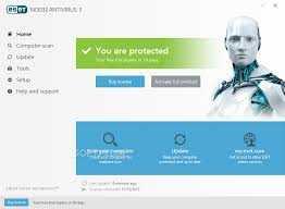 ESET NOD32 Antivirus 13.1.21.0 Crack With License Key Full 2020