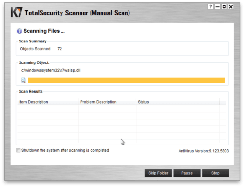 K7 Total Security 2018 Crack + Serial Key Free Download