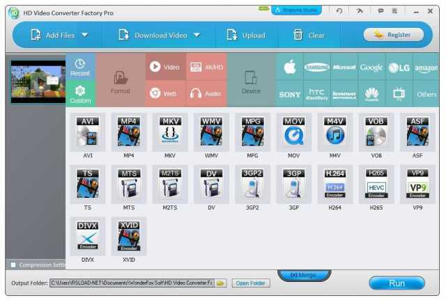 HD Video Converter Factory Pro 18.1 Crack With Serial Key Free Download