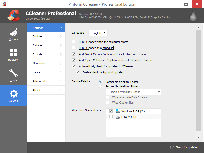 CCleaner Pro 5.65 Crack Full With License Key 2020