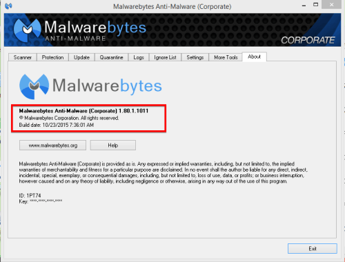 malwarebytes anti malware serial number