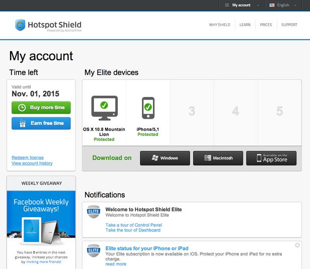 Hotspot Shield 9.21.1.11414 Crack With Keygen Download {Updated}