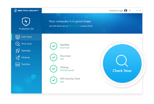 360 Total Security Premium 9.6 Crack + Serial Key Free Download