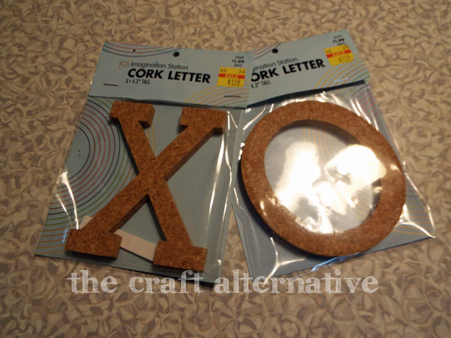 How to Make an XO Message Board_Letters