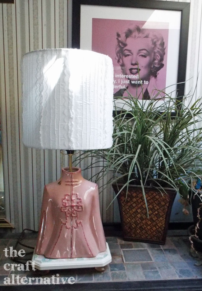 How to Make a Lamp Shade_Finished Two