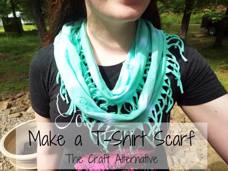 Make a T-Shirt Scarf
