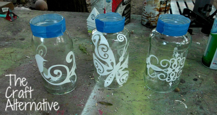 Easy to Make Frosted Jar Lanterns_Shapes