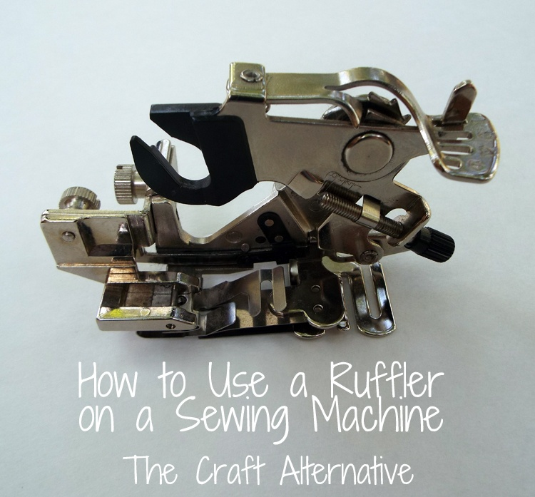 How to Use a Ruffler on a Sewing Machine