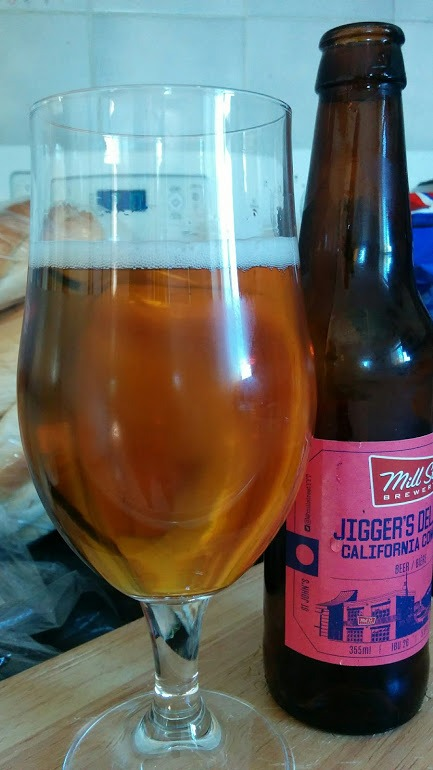 Jigger's Delight is a lighter ale from Mill St. Brewery's Newfoundland brewpub. Here's what The Craft Beer Diaries thought of this California Common.