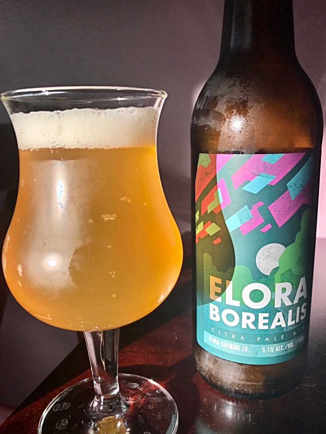 For a small brewery, an appealing flagship offering is essential. In Elora Borealis Citra Pale Ale, the Elora Brewing Company has a citrus-tinged gold mine. Click through for the full review.