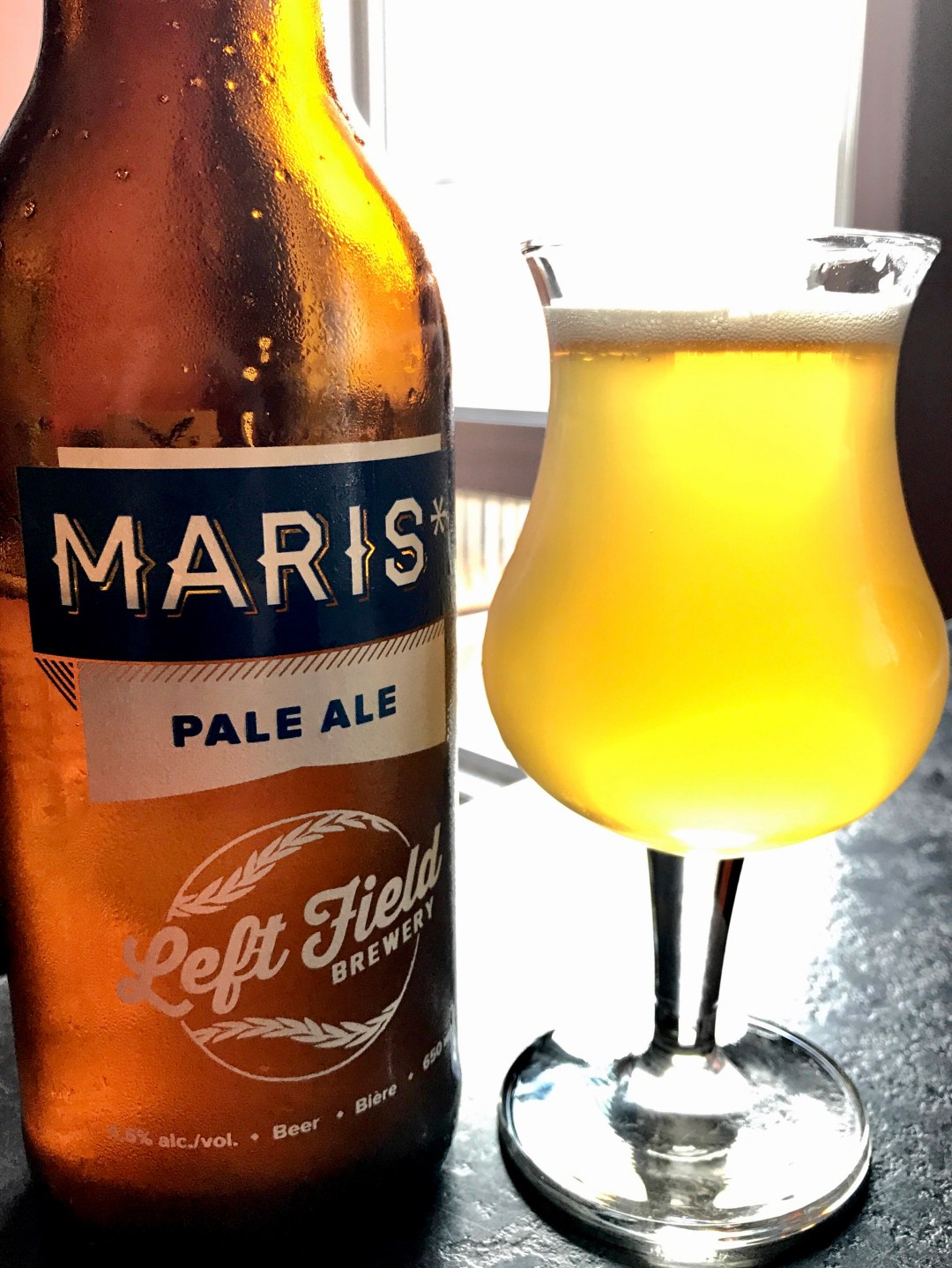 Roger Maris' home run record stood for decades, and it took steroid-tainted ballplayers to top it. Maris* is a Pale Ale with the same innocent purity.
