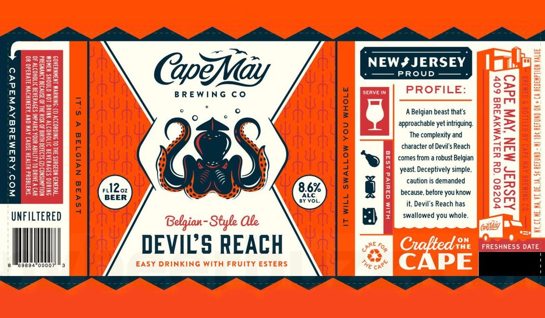 Review: Devil's Reach by Cape May Brewing Co.