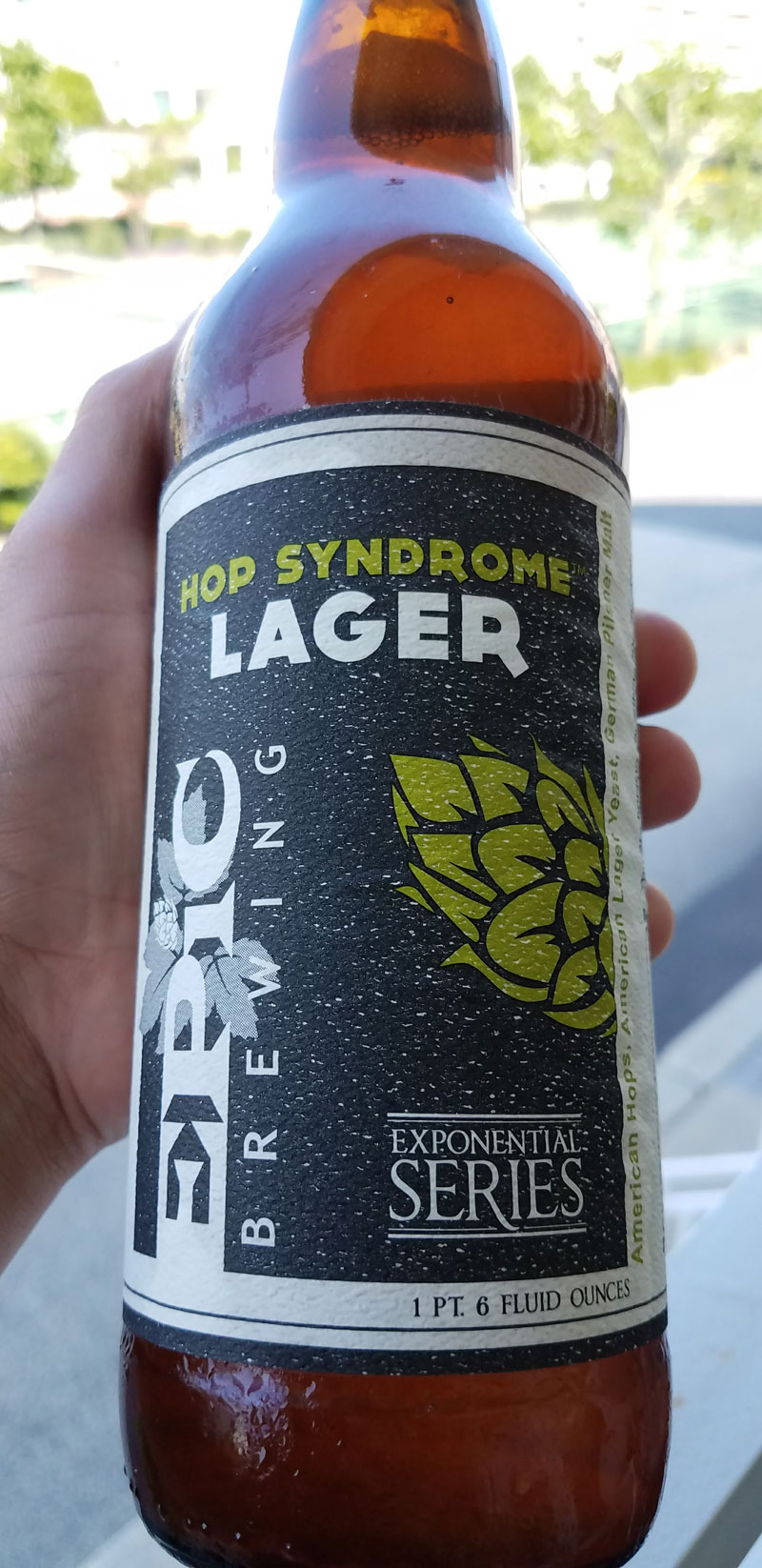 Crisp, Refreshing, Drinkable. A wondrously hoppy lager, this is a clean, spicy, and fruity brew that hits your summer palate just right. Click through for the full review.