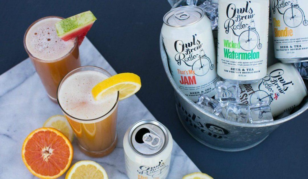 Review: Owl's Brew Radler – Part Beer, Part Tea, Party