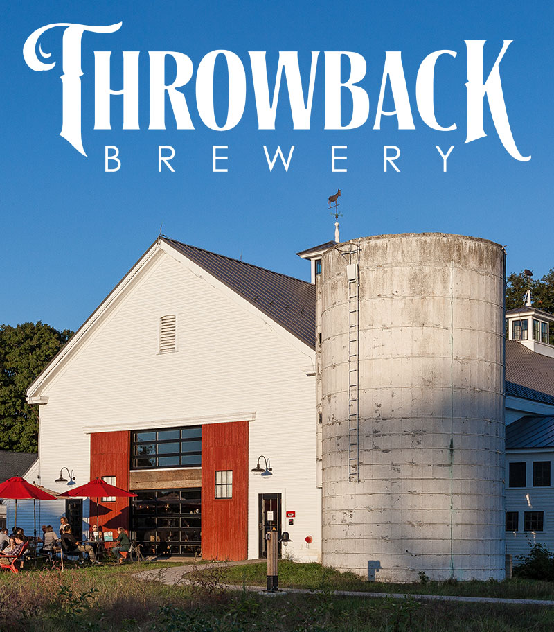 What began as an entry in a friend's annual homebrew competition has developed into a splendid experience in craft beer and delectable food not to be missed. Click through to learn more about Throwback Brewery in New Hampshire (USA).