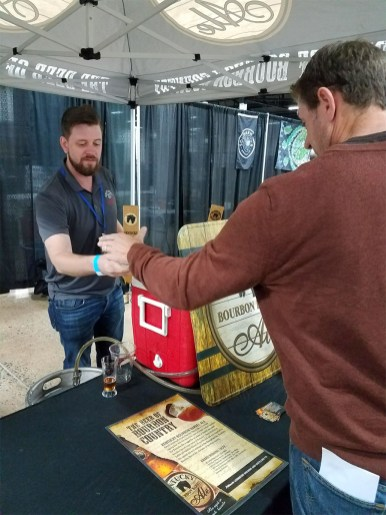 Valley Forge Beer and Cider Festival 20171104_173054 Kentucky Bourbon Barrel Ale Honey Barrel Brown Ale