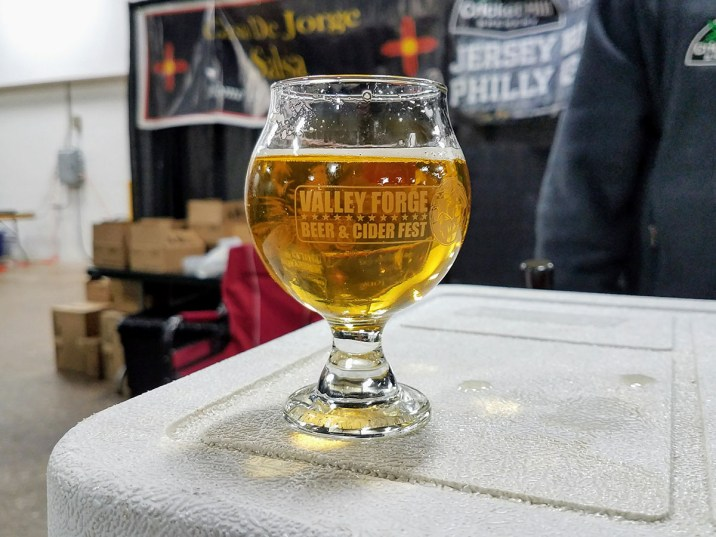 Valley Forge Beer and Cider Festival 20171104_174625 Cricket Hill Brewery East Coast Lager