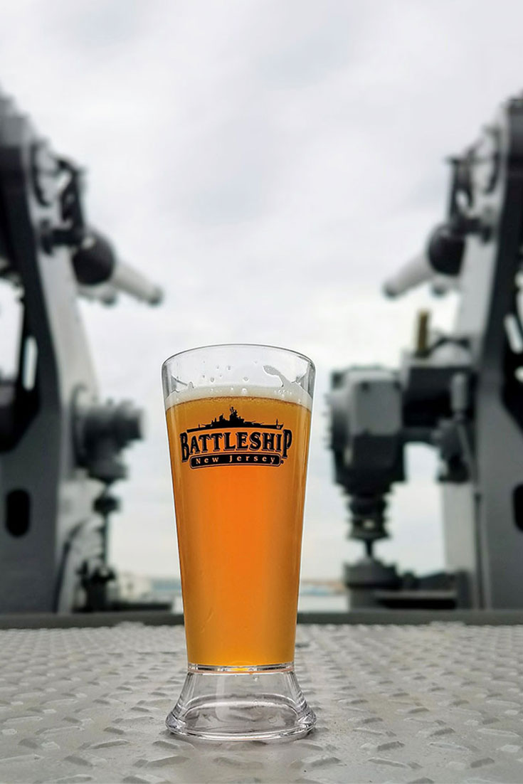 Enjoying craft beer, cigars, and live music on the deck of the most decorated battleship to have served in the U.S. Navy, one of the largest ever built. Click through for the full event recap.
