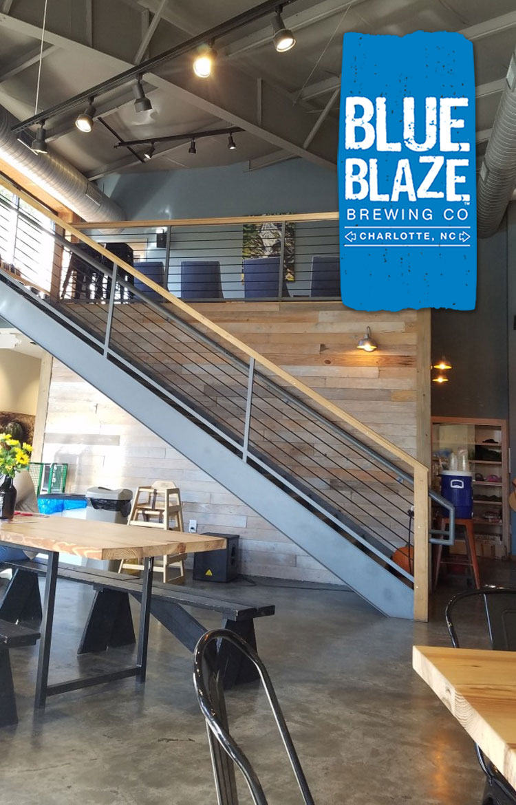 While on a trip to Charlotte, NC for a conference, I was introduced to Blue Blaze Brewing. Join me and learn more about this phenomenal brewery.