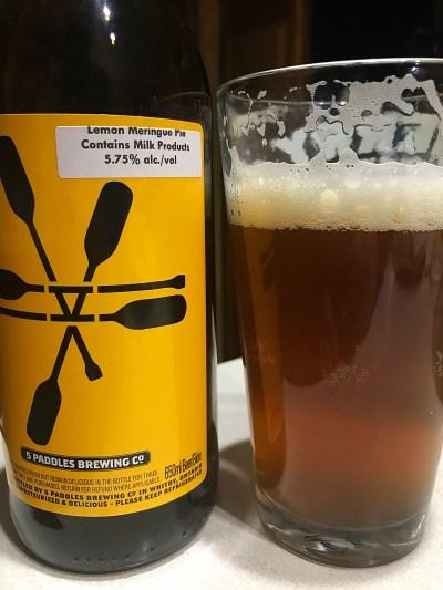 Lemon Meringue pie ale