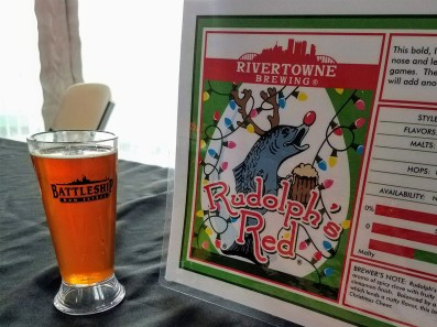Suds & Stogies 2017 Battleship New Jersey_20171118_134631 Rivertowne Brewing Rudolph's Red