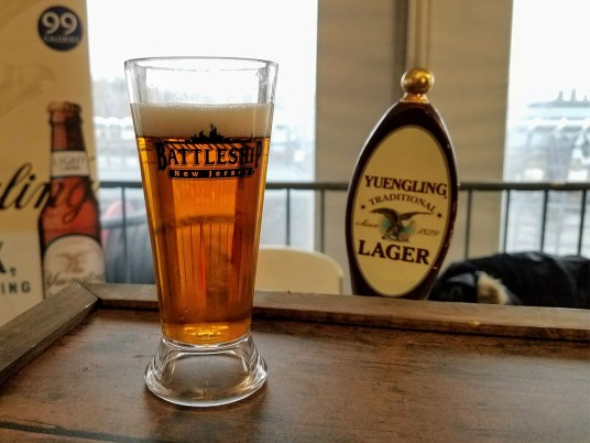 Suds & Stogies 2017 Battleship New Jersey_20171118_145141 Yuengling Lager