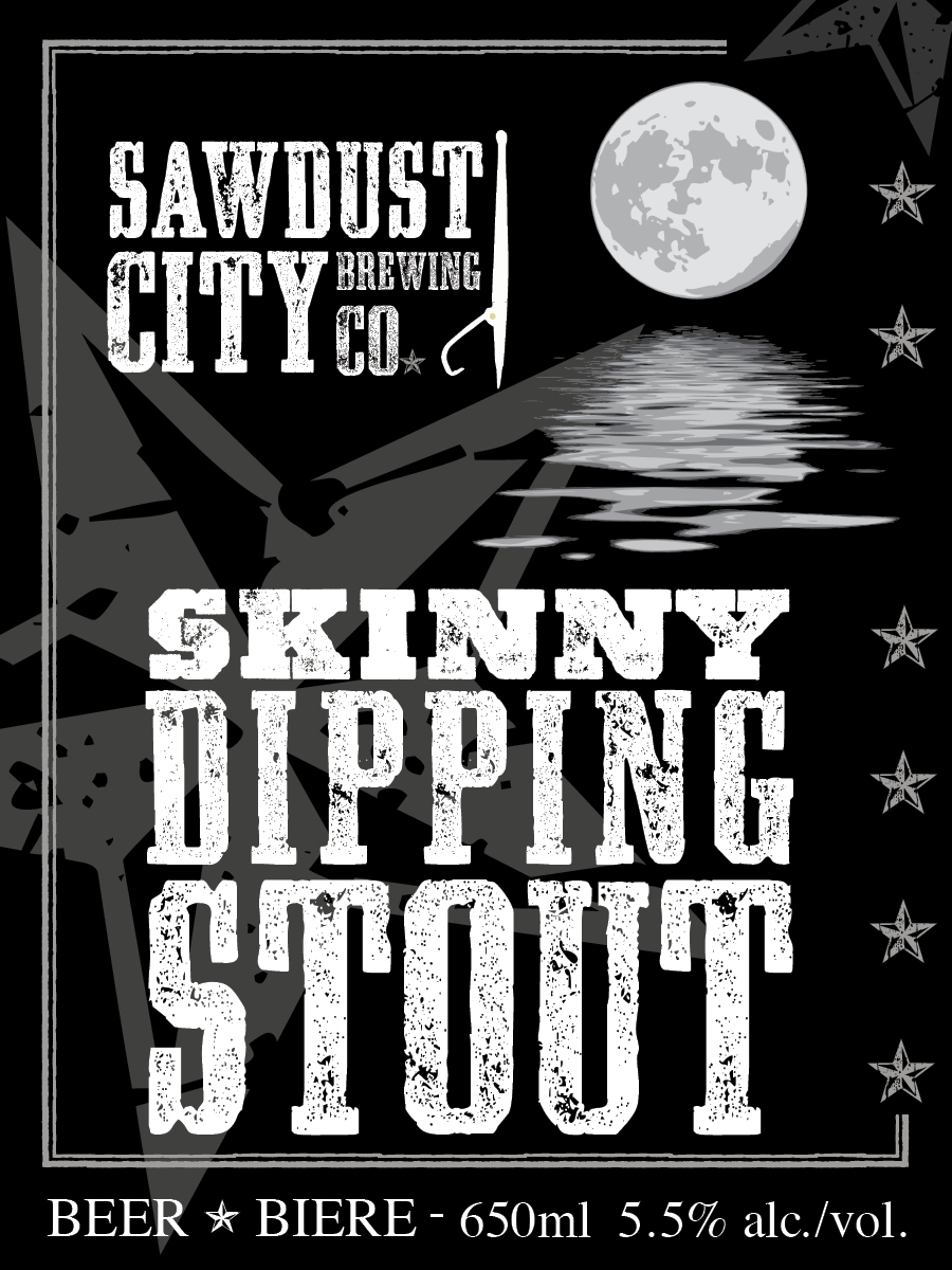 Today we're taking a look at the Skinny Dippin' Stout by Sawdust City Brewing Company located in Gravenhurst, Ontario in the Muskoka Region. Click through for this craft beer review.