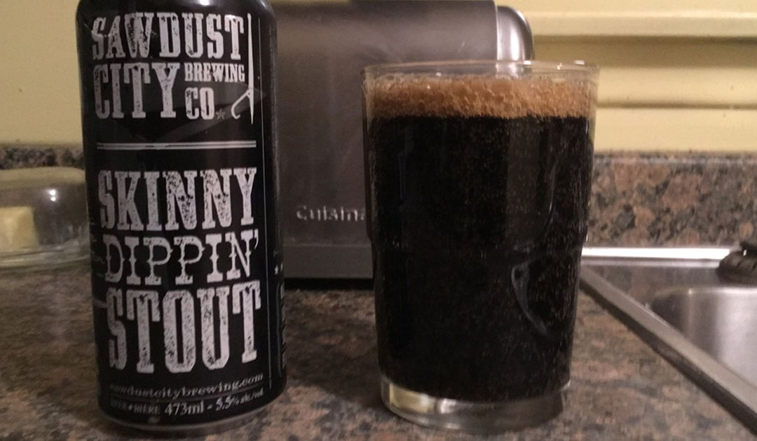 Review: Skinny Dippin' Stout by Sawdust City Brewing Co.