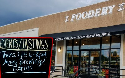 Avery Brewing Tasting at The Foodery in Phoenixville