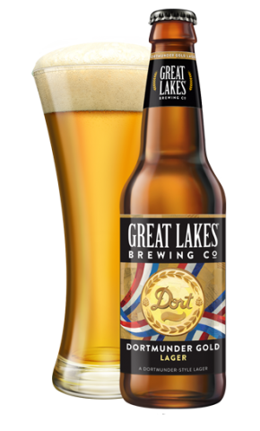 The flagship lager from Great Lakes Brewing Co, Dortmunder Gold Lager is a crisp, fresh pour, perfect as either a cooling summer drink, or an all year round pour.