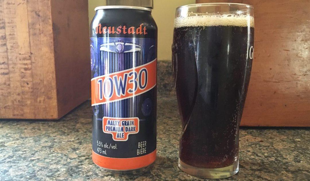 Review: 10W30 Dark Ale by Neustadt Springs