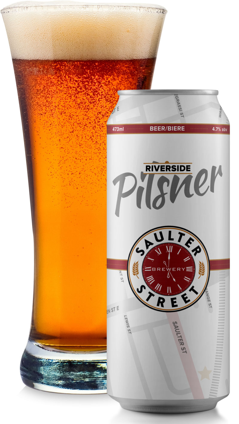 The Riverside Pilsner is versatile, pairing well a variety of pub favourites on the food menu and great sipping on the patio. Click through for the full review.