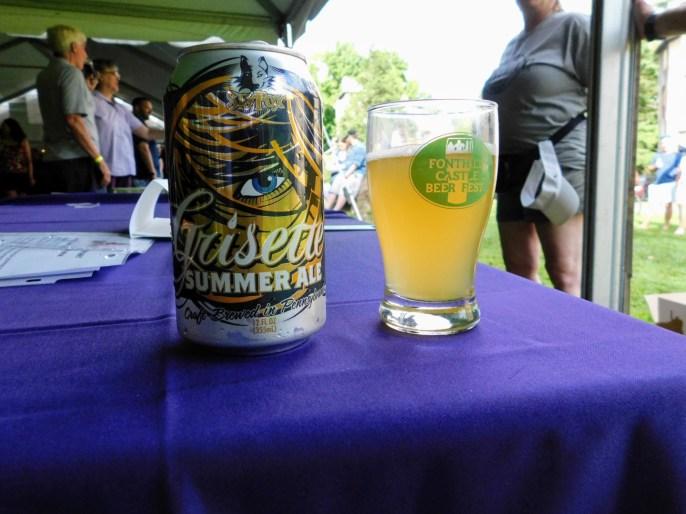 Fonthill Castle Beer Festival 2018 141 Sly Fox Grisette Summer Ale (Large)