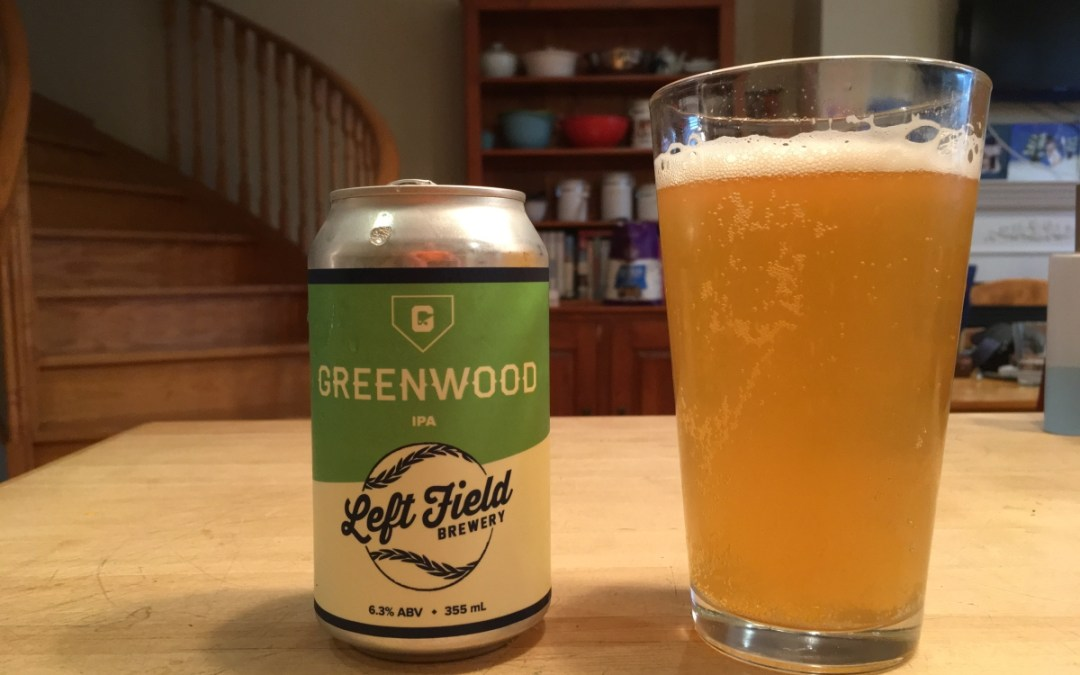 Review: Greenwood IPA by Left Field Brewery