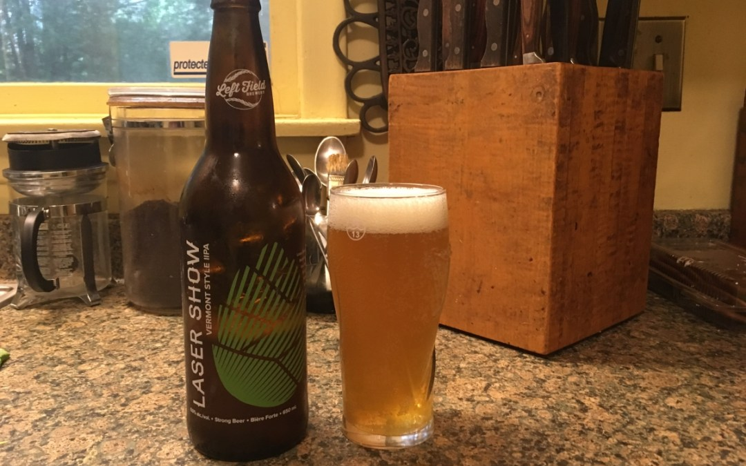 Review: Laser Show Vermont Style Double IPA by Left Field Brewery