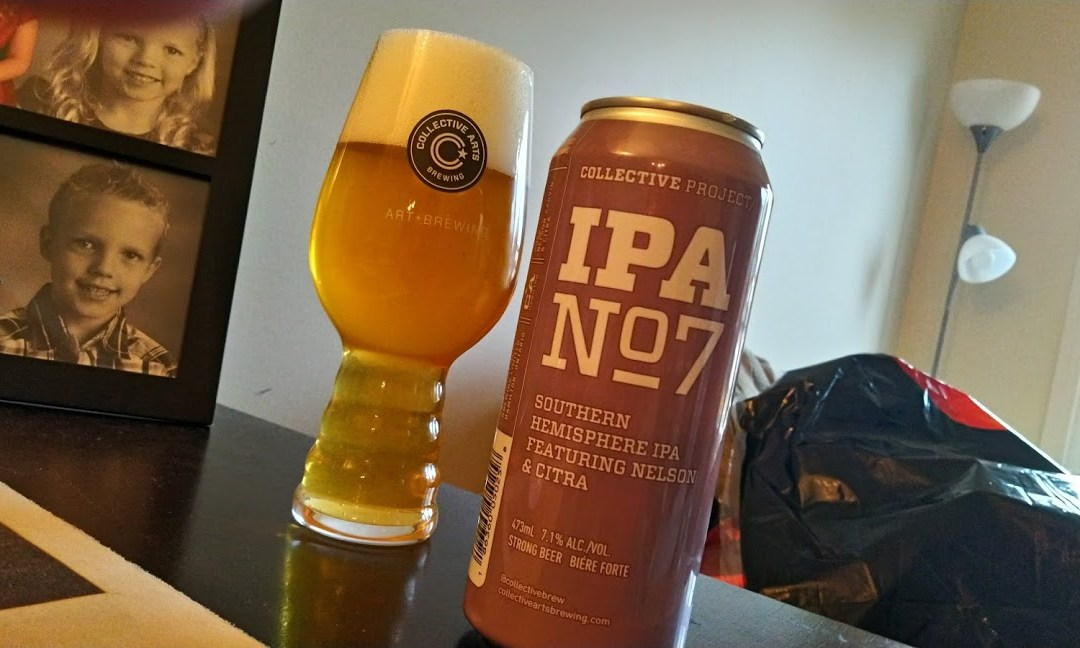 Review: IPA No 7 by Collective Arts Brewing