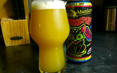 Review: Sparklepuff Triple IPA by Flying Monkeys Craft Brewery