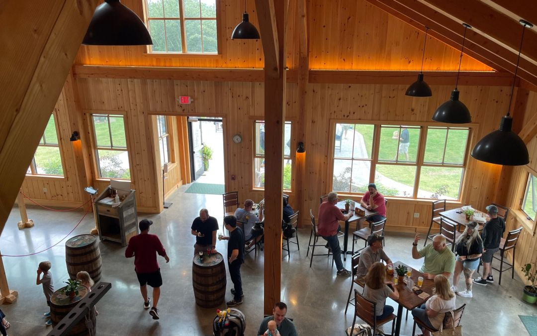 A Grade Podcast: Tilted Barn Brewery