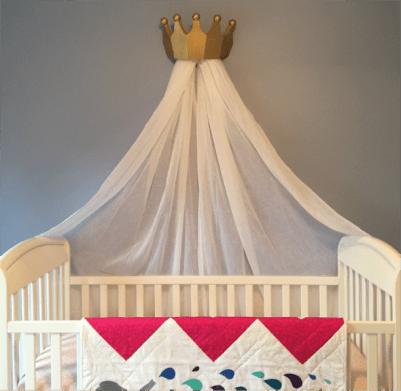 Diy Crown Canopy The Craft Crib