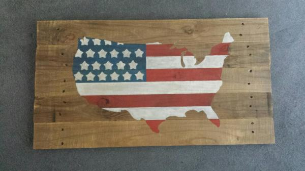 Patriotic Pallet Art