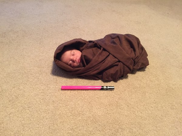 Star Wars Baby Jedi Photo Shoot