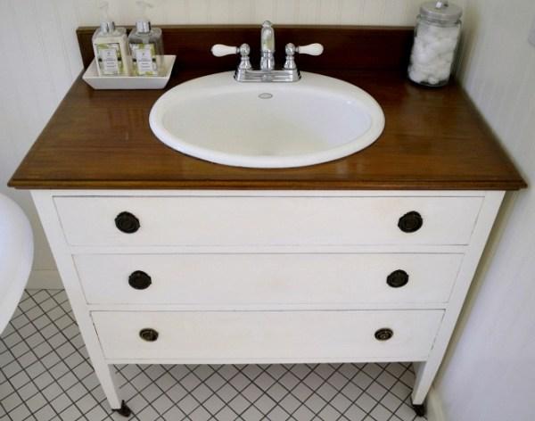 Dresser Vanity - An Oregon Cottage