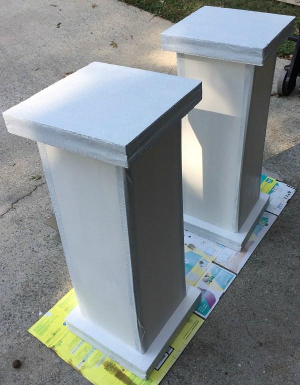 white-columns