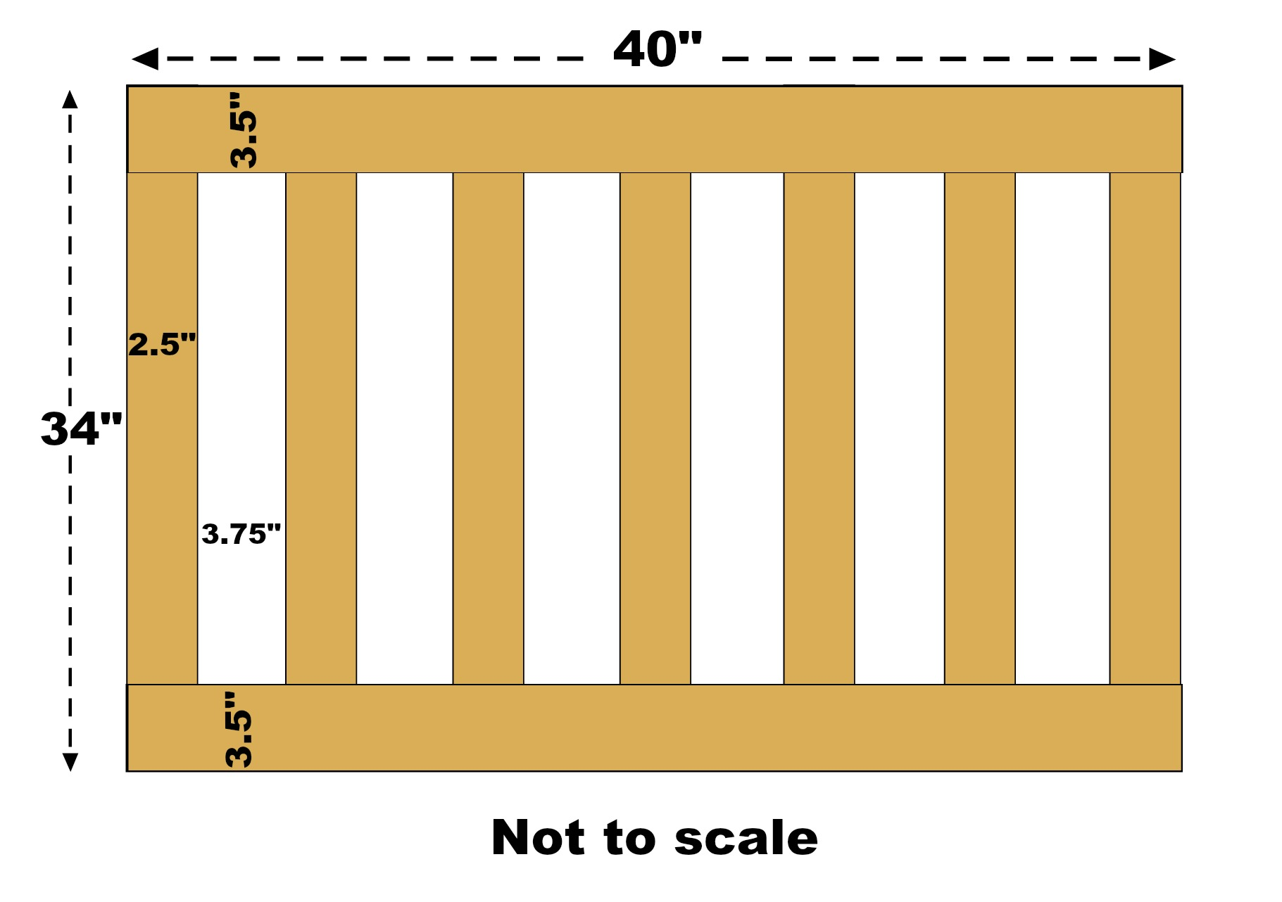Board And Batten Dimensions Baby Gate The Craft Crib