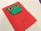 A happy origami Boobook