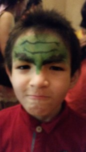 Iron Man turned Hulk: he came back for round 2 after staring long and hard at his Iron Man face in the mirror
